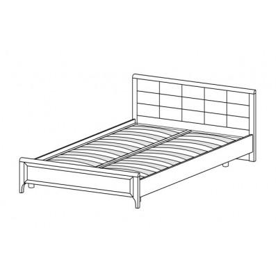 Кровать КР-2034 (1,8х2,0) для спальни Лером «Карина»