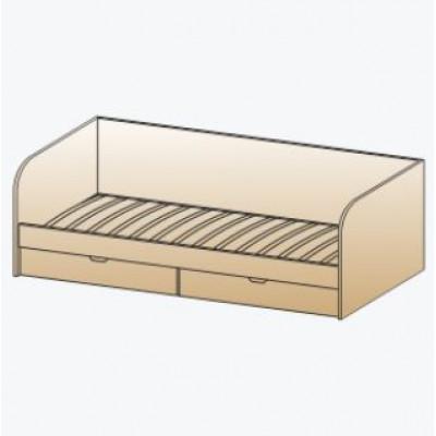 Кровать КР-117 для детской Лером «Ксюша»