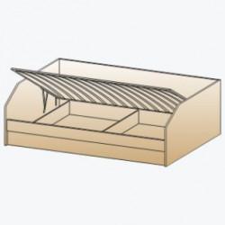 Кровать КР-119 для детской Лером «Ксюша»