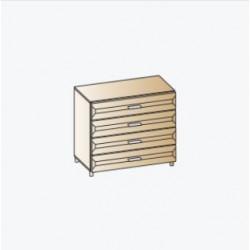 Комод КМ-1801 для детской Лером «Ксюша»