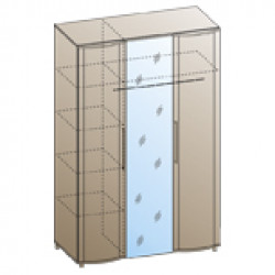 Шкаф ШК-100 для спальни Лером «Дольче Нотте»