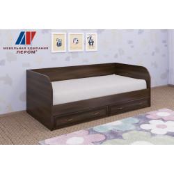 Кровать КР-1042 (0,9х1,9) для детской Лером «Карина»