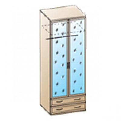 Шкаф ШК-1007 для спальни Лером «Карина»
