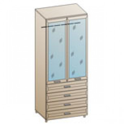 Шкаф ШК-845 для спальни Лером «Мелисса»