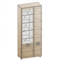 Шкаф ШК-833 для детской Лером «Ксюша»