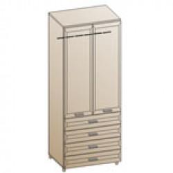 Шкаф ШК-840 для гостиной Лером «Мелисса»