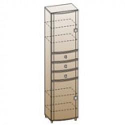 Шкаф ШК-307 для гостиной Лером «Оливия»