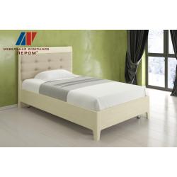 Кровать КР-2071 (1,2х2,0) для спальни Лером «Дольче Нотте»