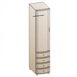 Шкаф ШК-144 для спальни Лером «Дольче Нотте»