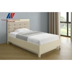 Кровать КР-1071 (1,2х2,0) для спальни Лером «Дольче Нотте»
