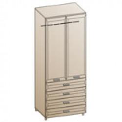 Шкаф ШК-840 для спальни Лером «Мелисса»