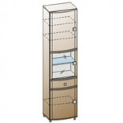 Шкаф ШК-333 для гостиной Лером «Оливия»