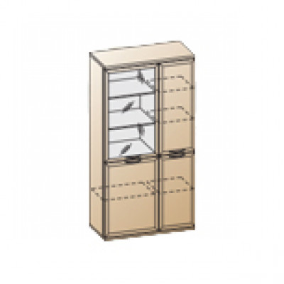 Шкаф ШК-1071 для детской Лером «Карина»