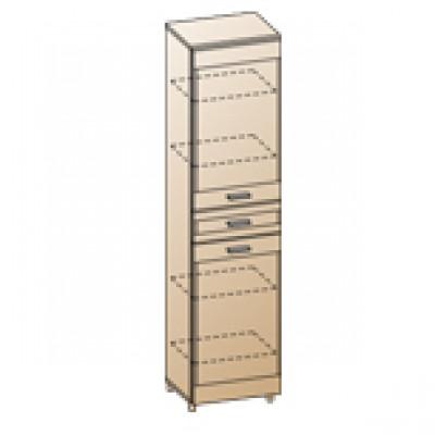 Шкаф ШК-1645 для гостиной Лером «Камелия»