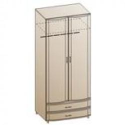 Шкаф ШК-143 для спальни Лером «Дольче Нотте»
