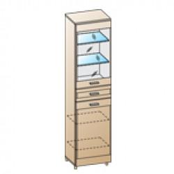 Шкаф ШК-1646 для гостиной Лером «Камелия»